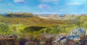Capertee Valley Afternoon Oil 2015
