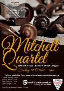 Mitchell Quartet performance