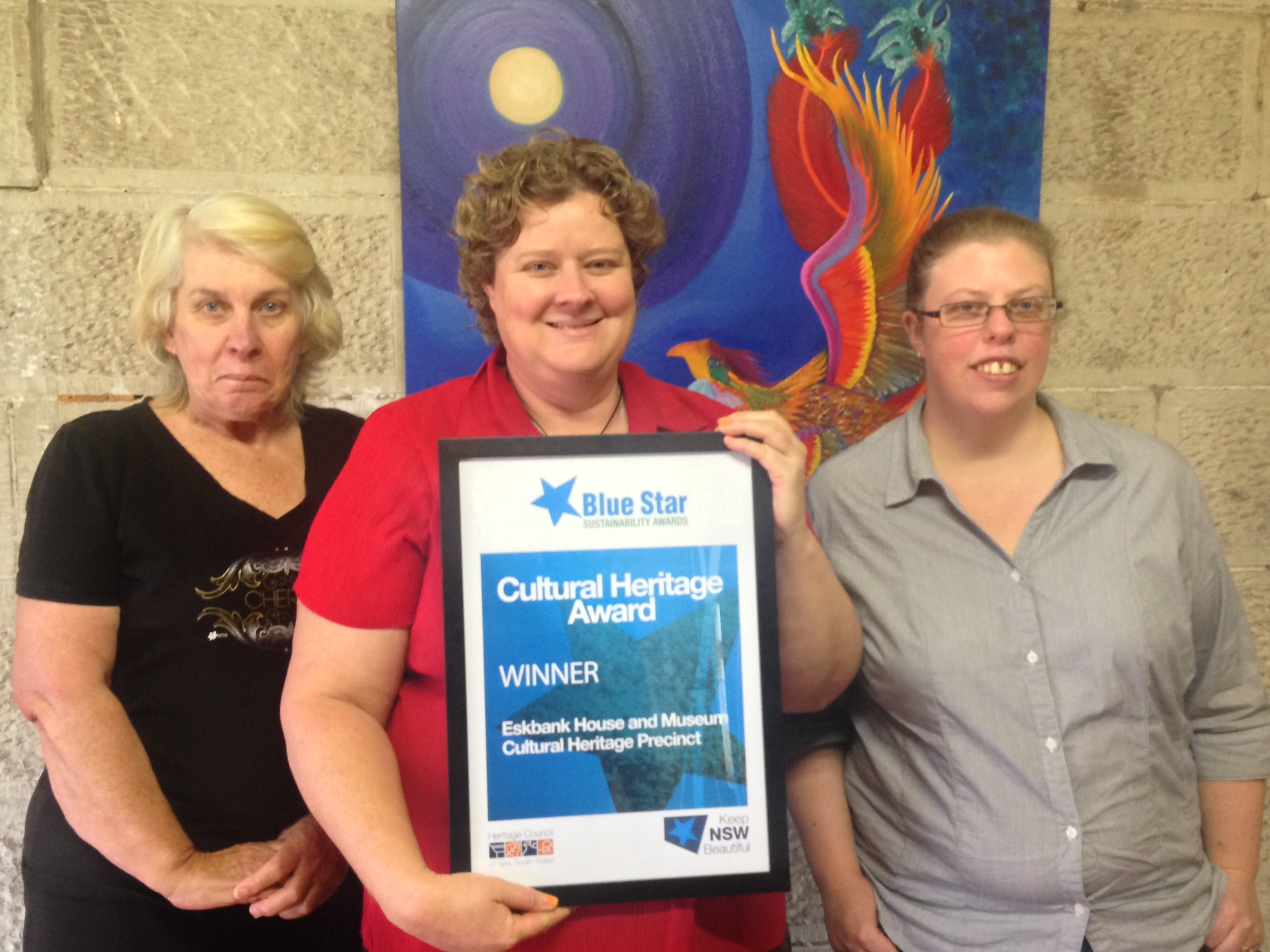 Eskbank House and Museum wins Blue Star Sustainability Cultural Heritage Award